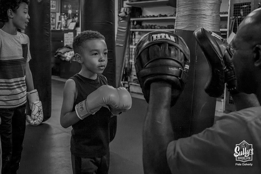Tonys kids class at Sullys boxing toronto